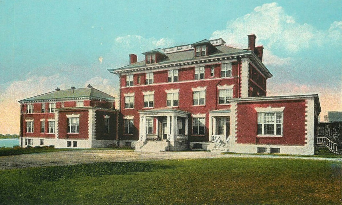 Ossining Hospital in the 1950s