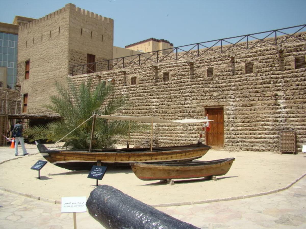 Must Visit Places in Dubai- Dubai Museum in Al Fahidi Fort