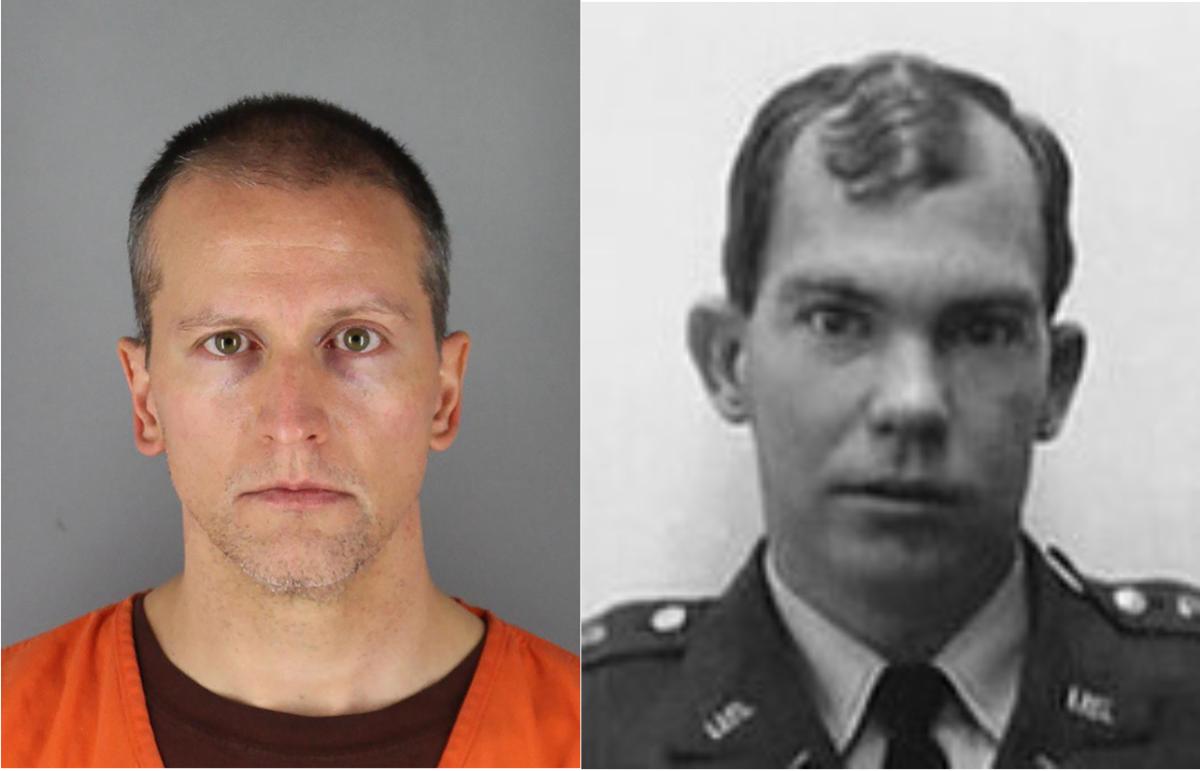 Derek Chauvin & William Calley: 52 years between mugshots
