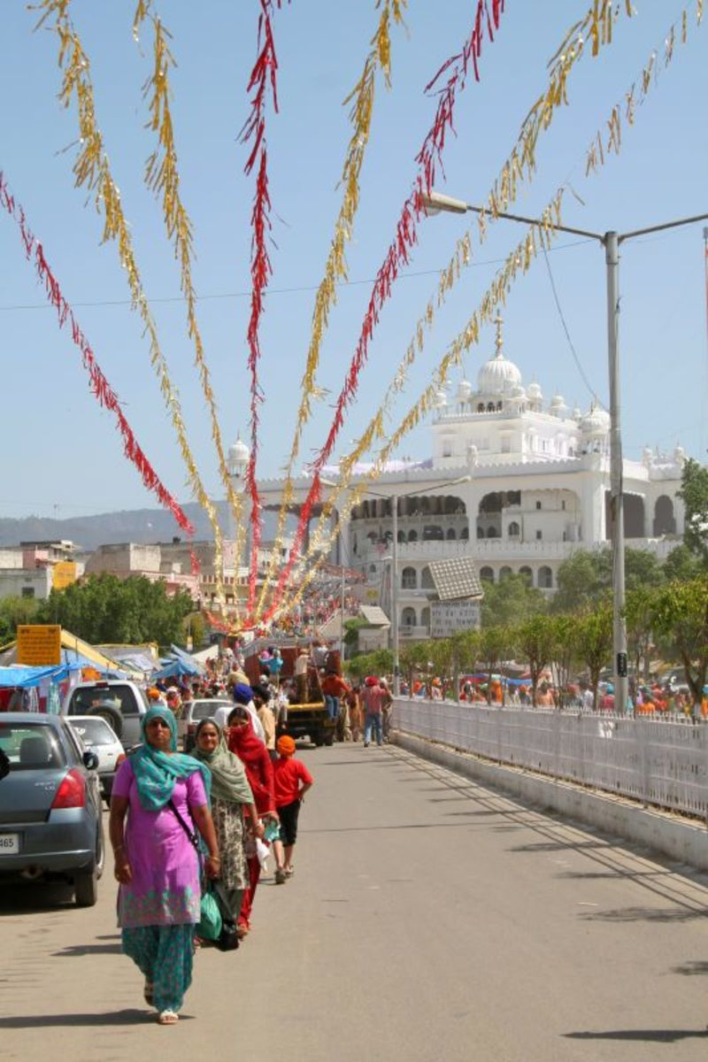 Birth place Of The Khalsa -  Gurudwara Keshgarh Sahib At Anandpur Sahib