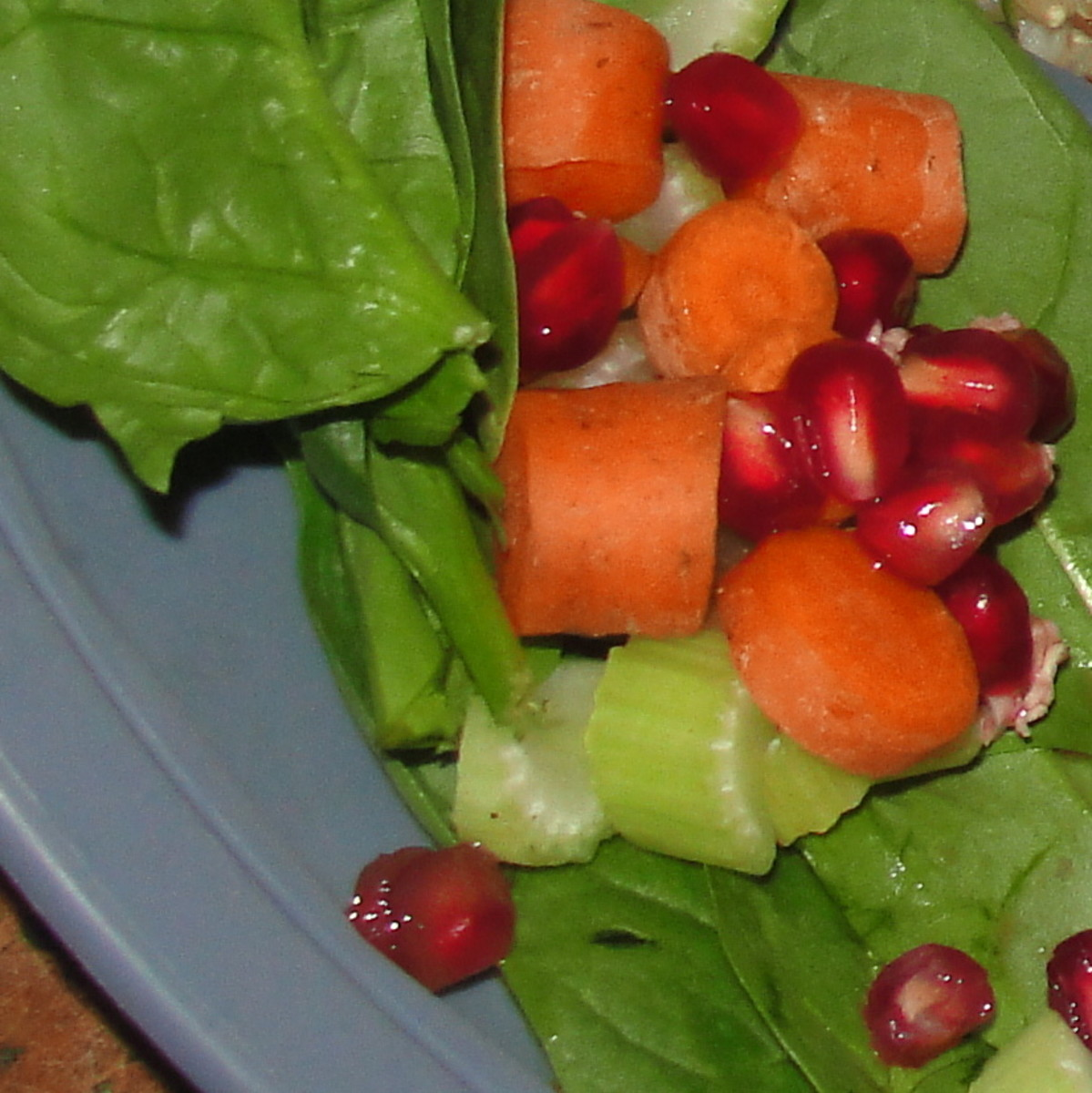 Plant parts salad