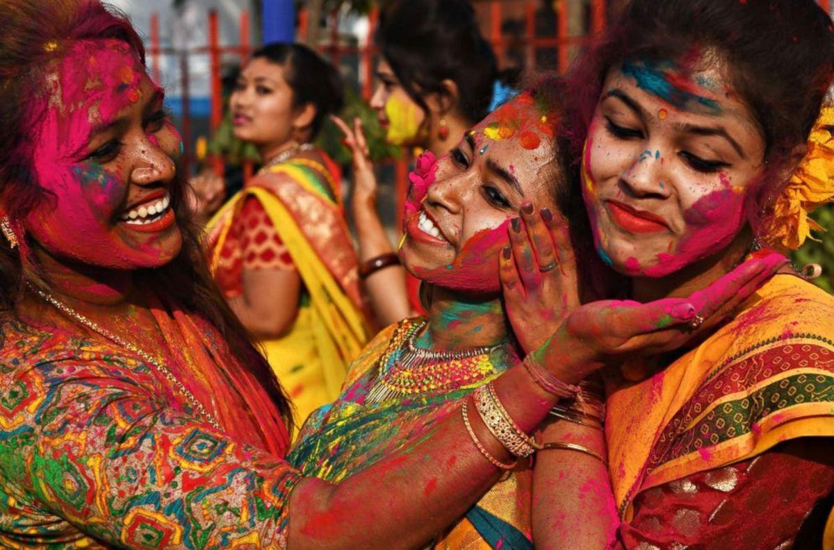 Holi - the Festival of Colours ....