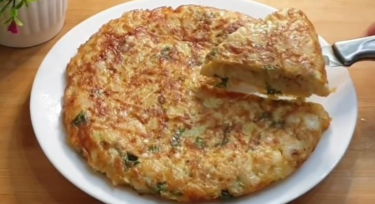 (Spanish Tortilla) Spanish Omelet