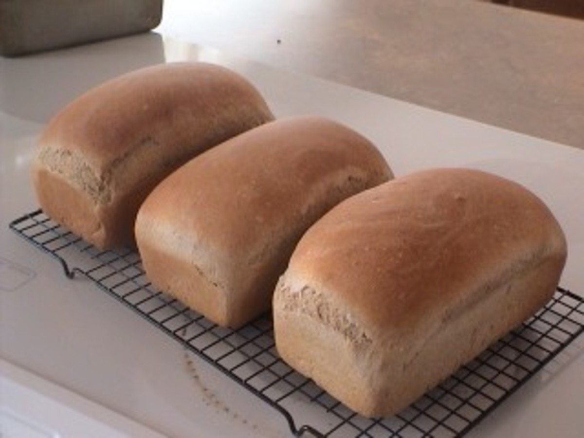 End result = Heavenly Homemade Bread