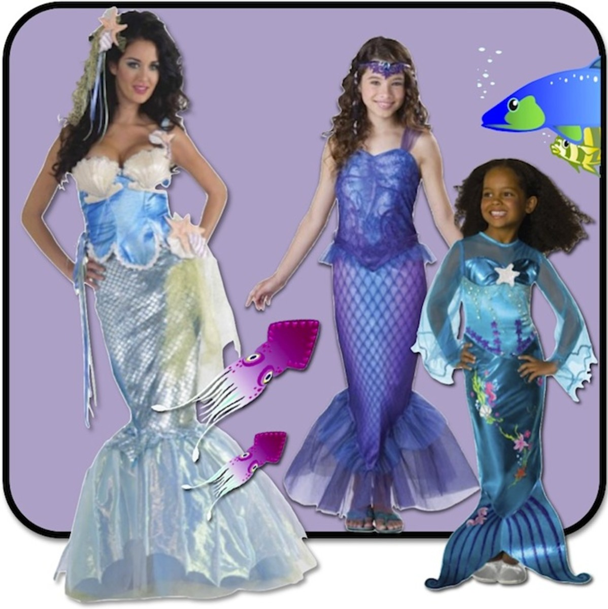 The Best Mermaid Costumes for Halloween or Cosplay