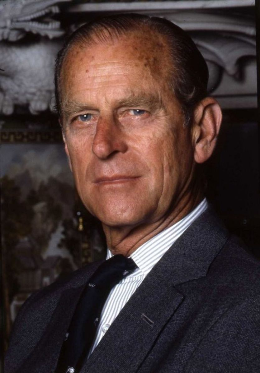 Prince Philip by Allan Warren