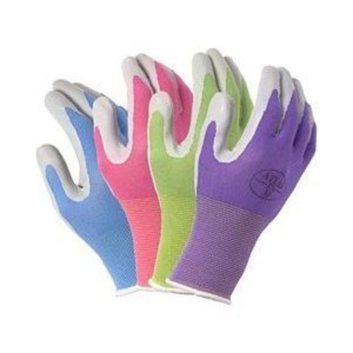 4 Pack Atlas Glove NT370 Atlas Nitrile Garden Gloves   Large (Assorted  Colors)