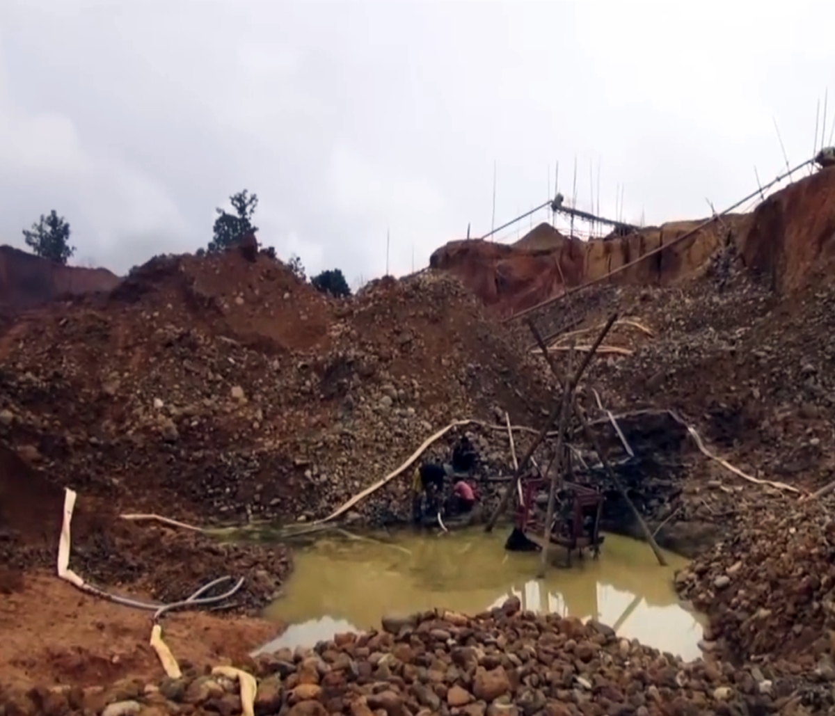 In northern Kachin state of Myanmar, residents nearby and workers are paying a high price for the region's gold rush.