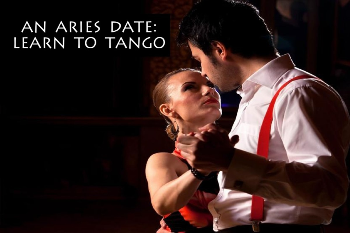 What Aries doesn't love to dance? They like to show off sultry moves, their passionate side, and to make you feel like you're on a unique and exciting journey with them.
