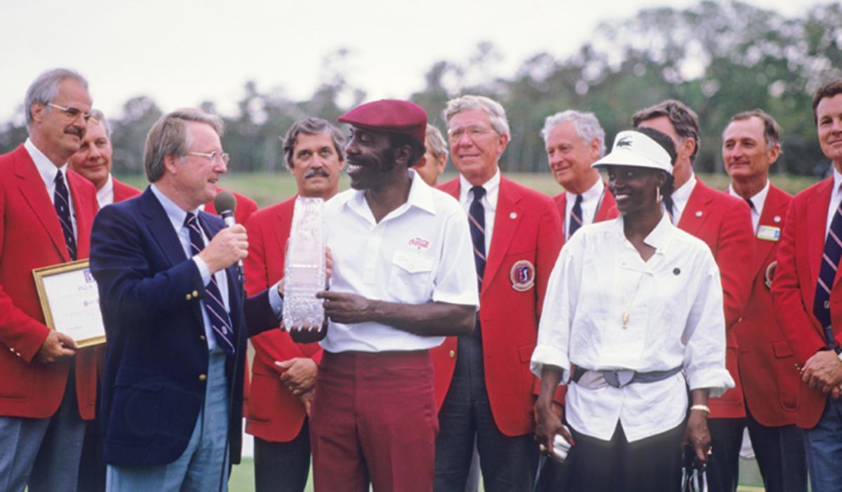 Peete Wins Players Championship 1985