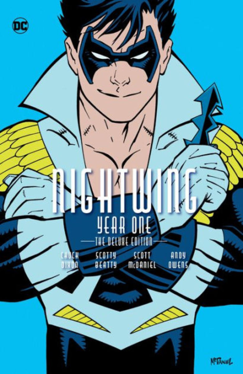 """Nightwing: Year One"" deluxe edition cover"