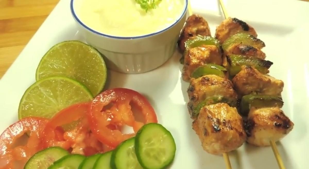 Shish Tawook Chicken Kabab Recipe