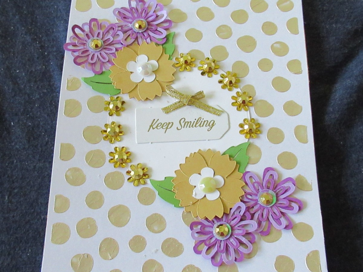 Punched flowers add dimensions and interest to all of your papercraft projects