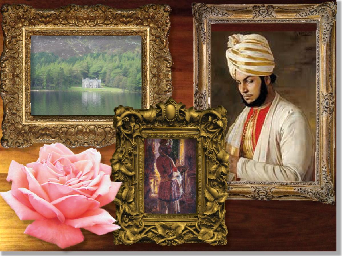 Queen Victoria & Abdul Karim