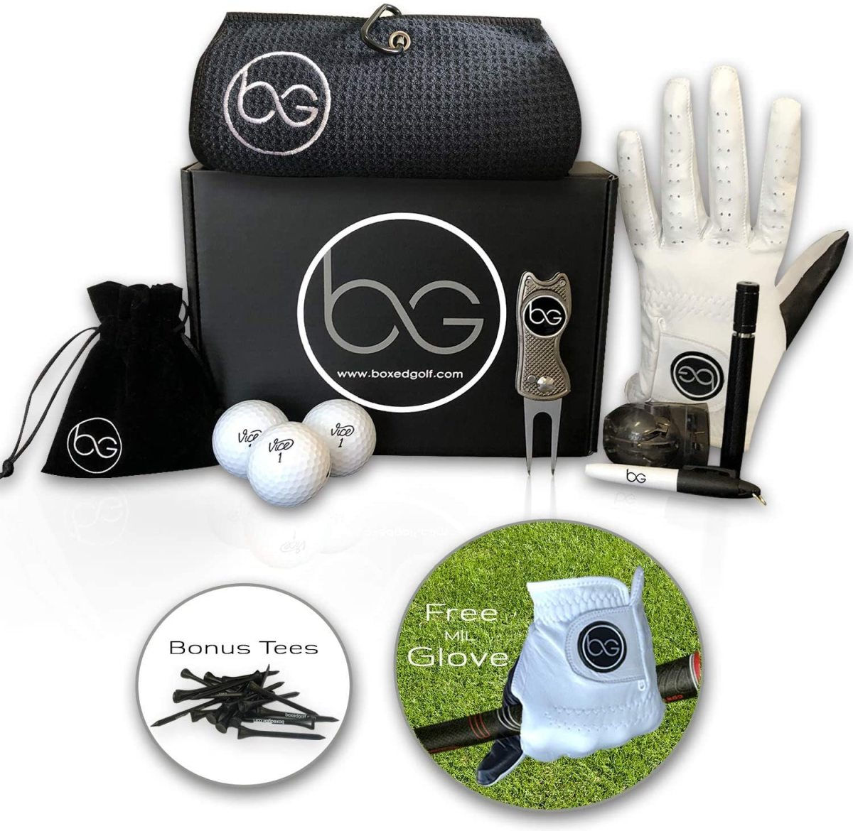 Golf Gift Basket As A Corporate Gift
