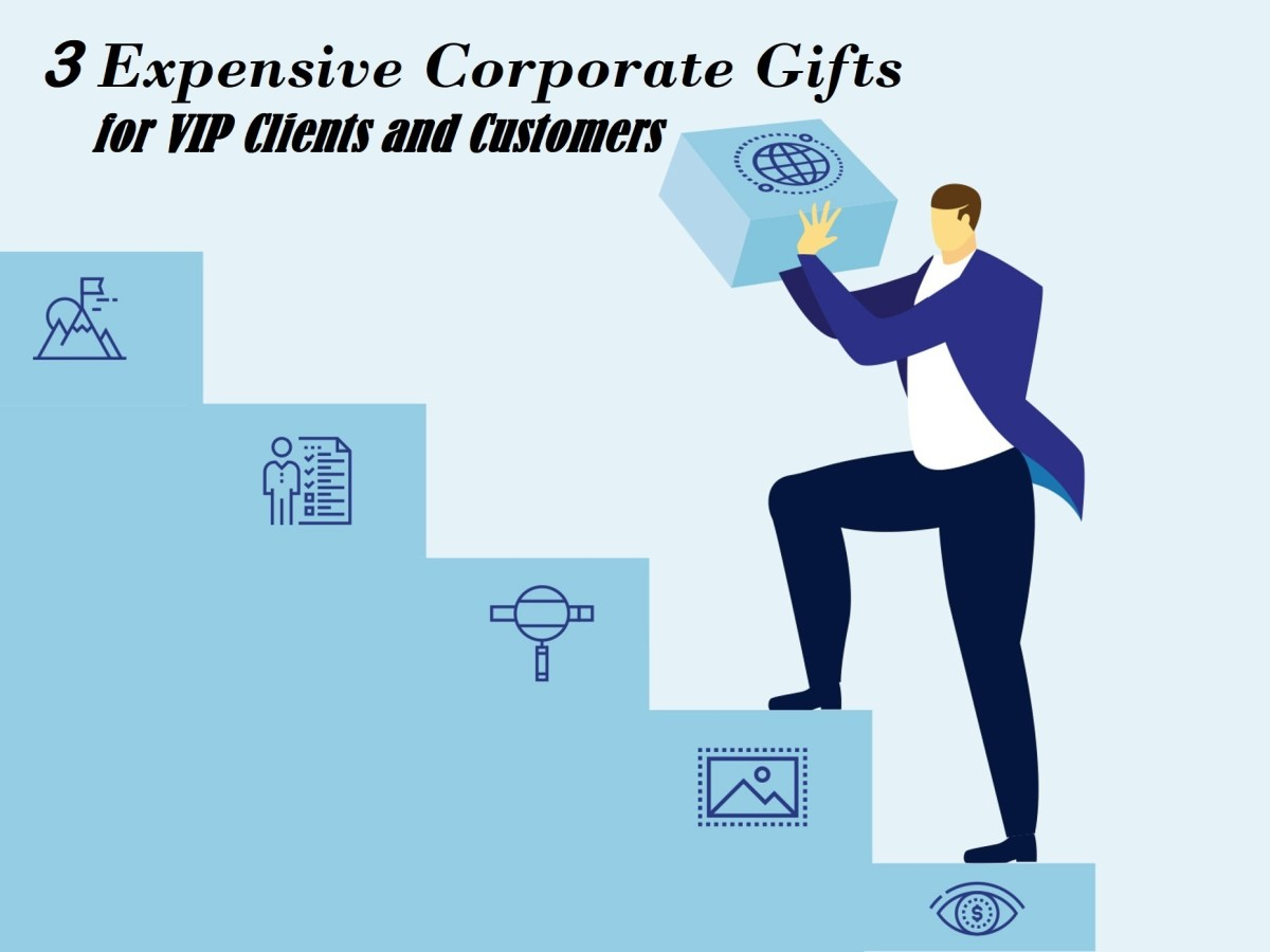3 Expensive Corporate Gifts for VIP Clients and Customers