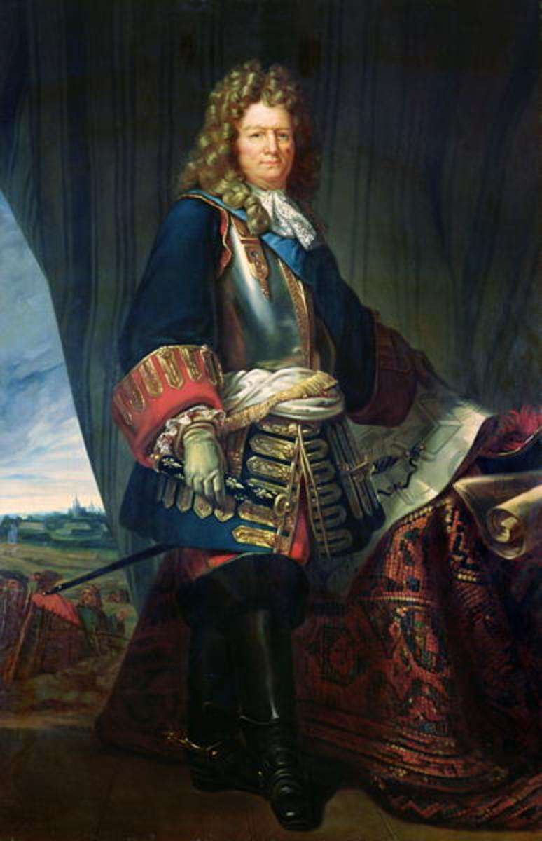 A portrait of Vauban