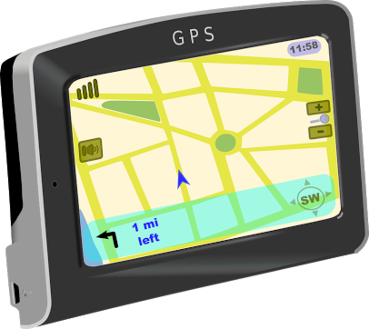 GPS - a widely used and very useful app