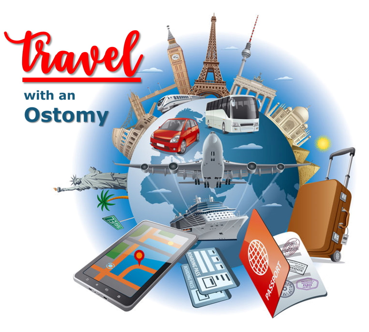 Tips on How to Travel Long-Distance If You Have a Colostomy