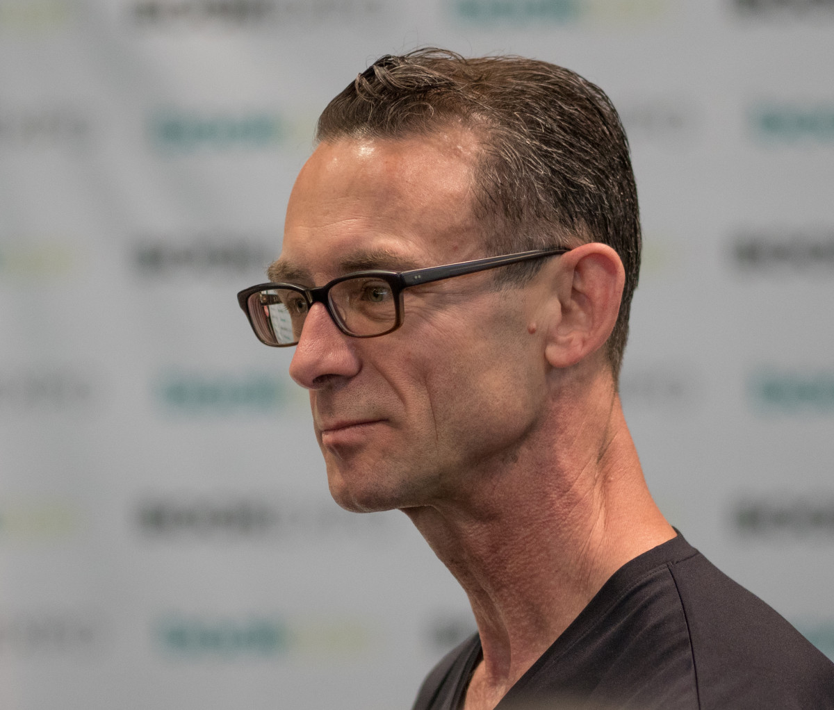 Chuck Palahniuk BookCon 2018 at the Javits Convention Center in New York City.
