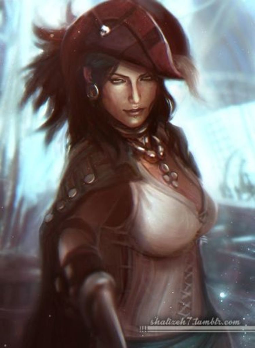Beautiful fan art of Isabela.
