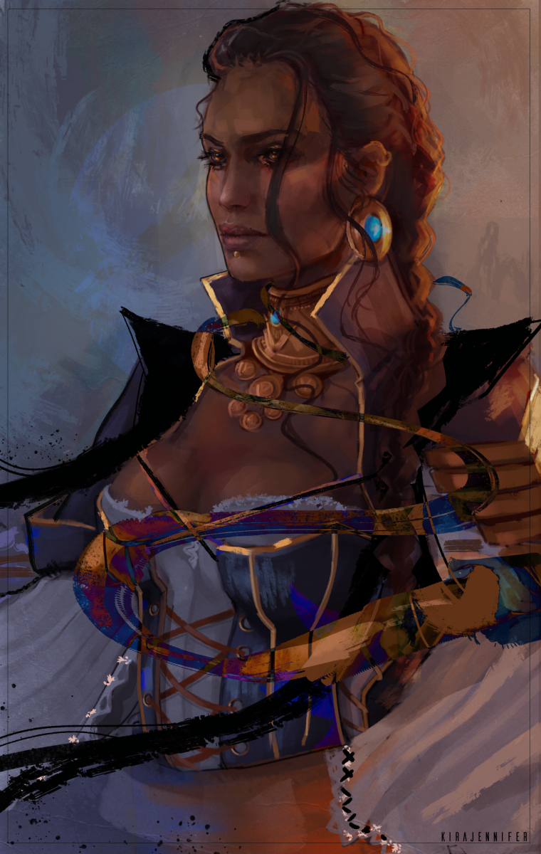 More beautiful Isabela fan art.