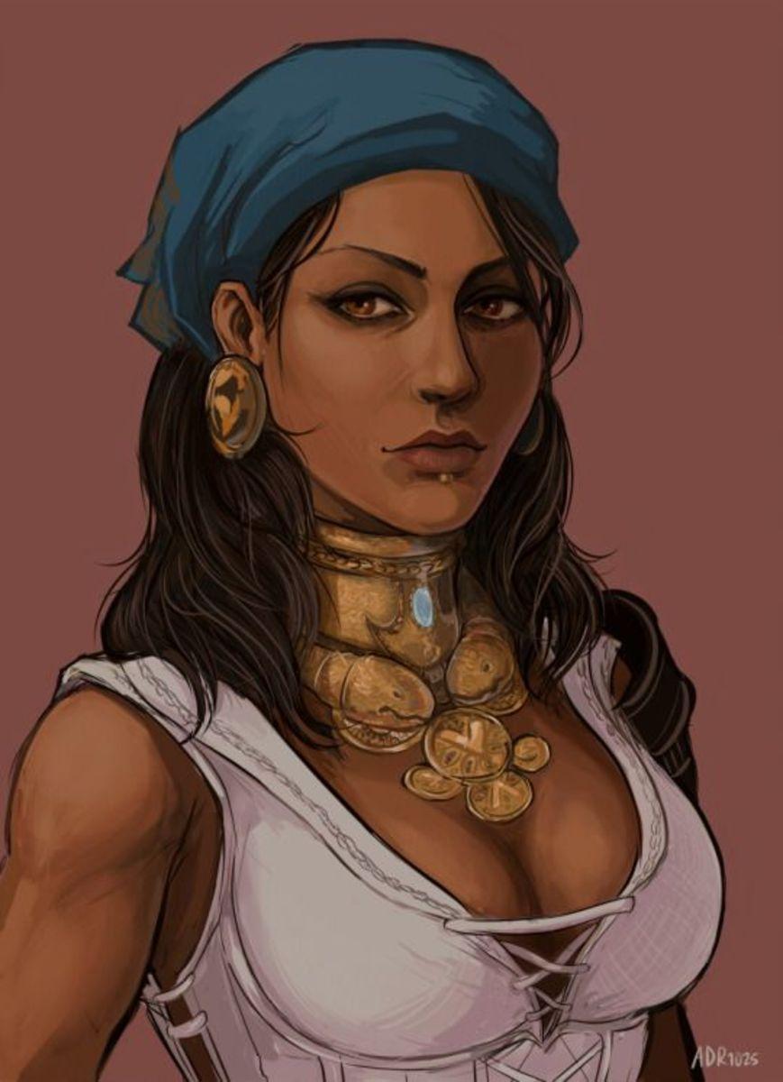 A fan's calm portrait of Isabela.