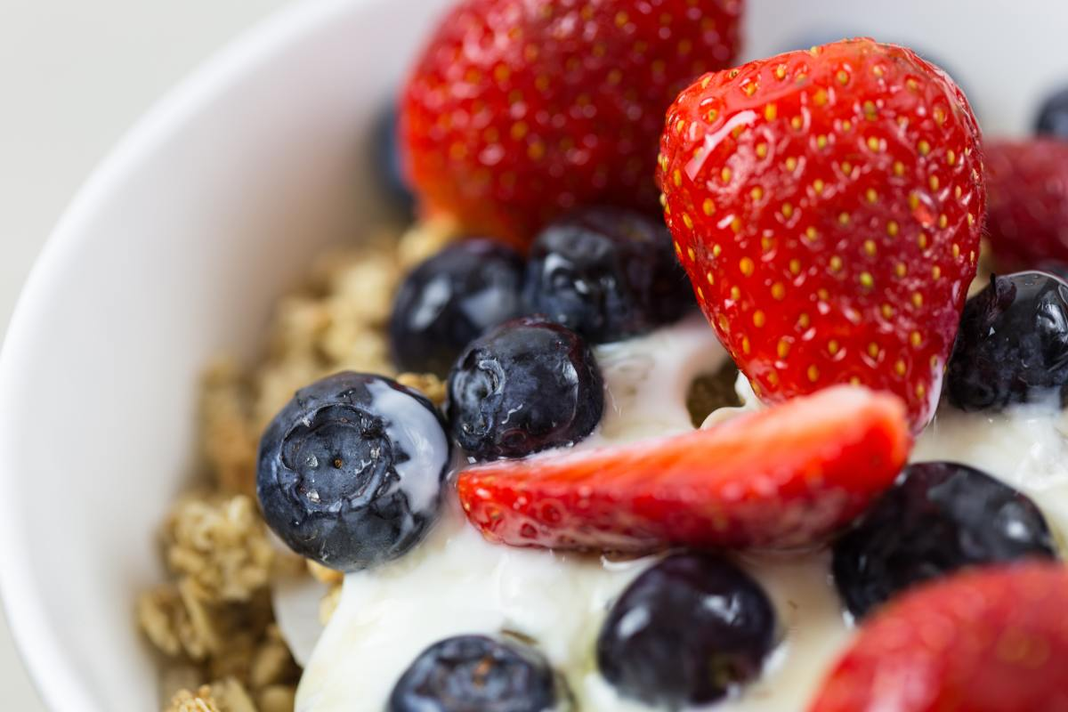 Cleansing foods like berries help detoxify the body.