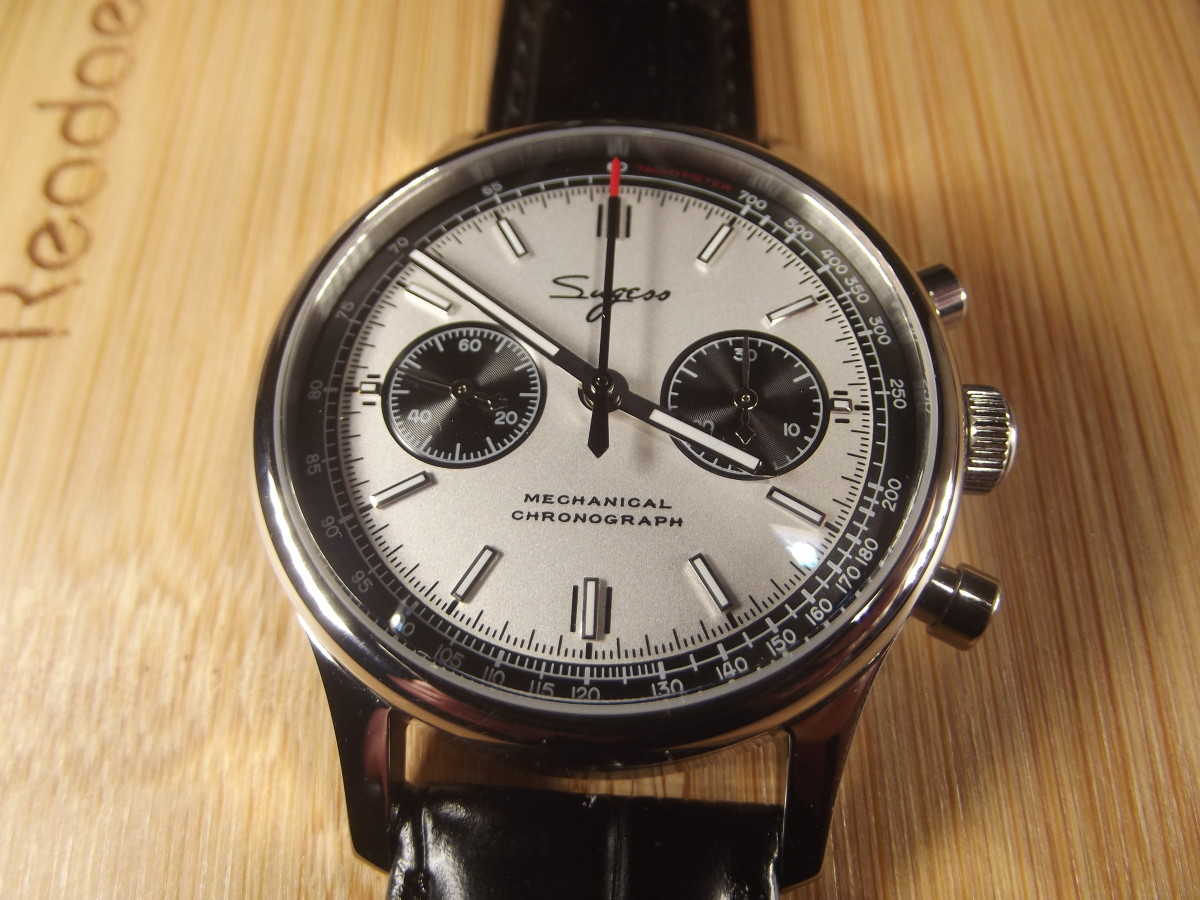 Review of the Sugess Men's Mechanical Chronograph