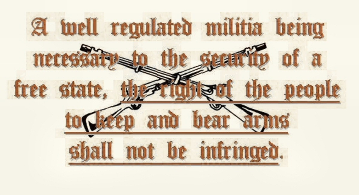 The Second Amendment to the Constitution   of  the United States of America
