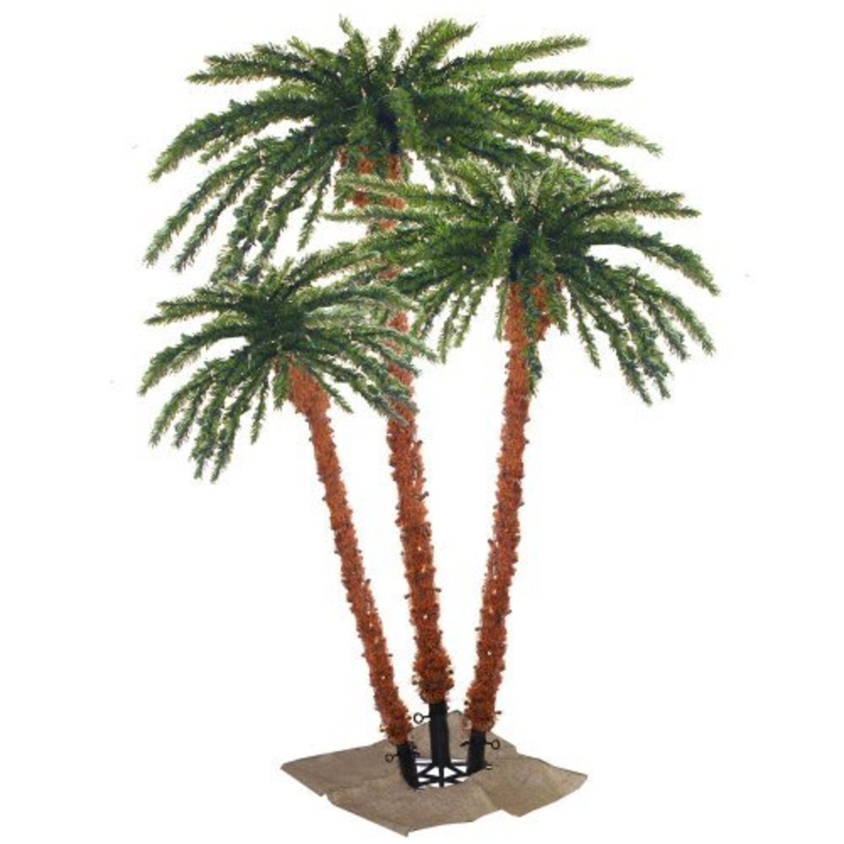 Outdoor Lighted Palm Tree Home Depot
