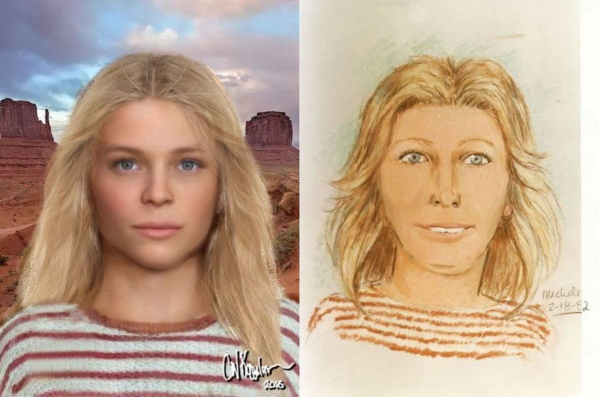 Carolyn Eaton ran away in 1981 and found murdered. She remained unidentified and given the name Valentine Sally until February 26, 2021.