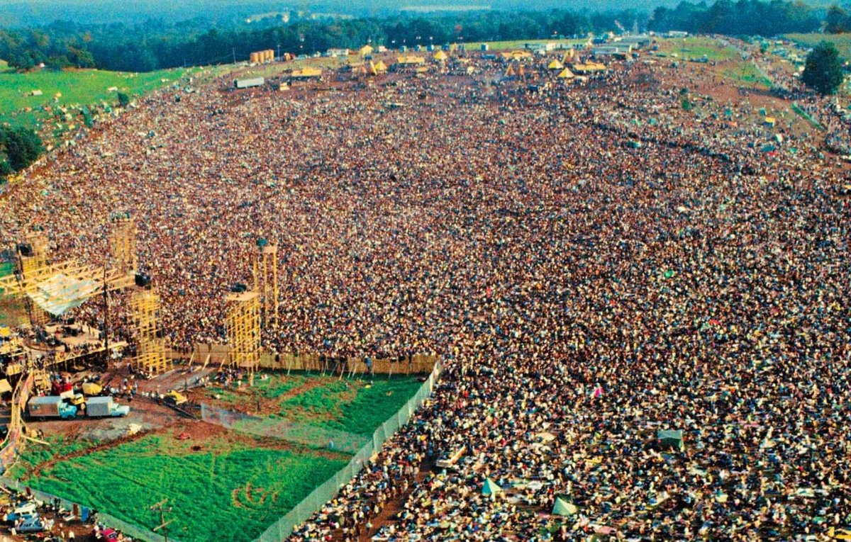 Woodstock '69: Not Just About Sex, Drugs and Rock and Roll