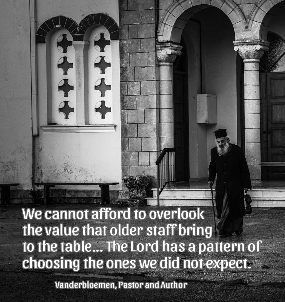 We cannot afford to overlook the value that older staff bring to the table.