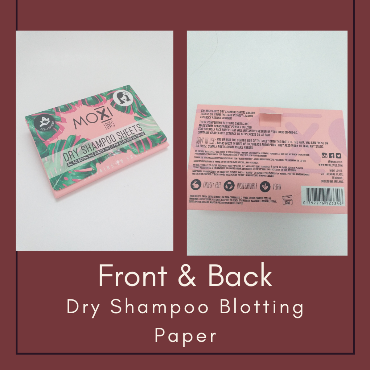 Most brands use cardboard packaging for their blotting paper as it is more eco friendly.