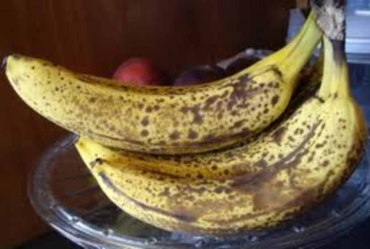Did you know brown speckles on bananas mean high magnesium content?