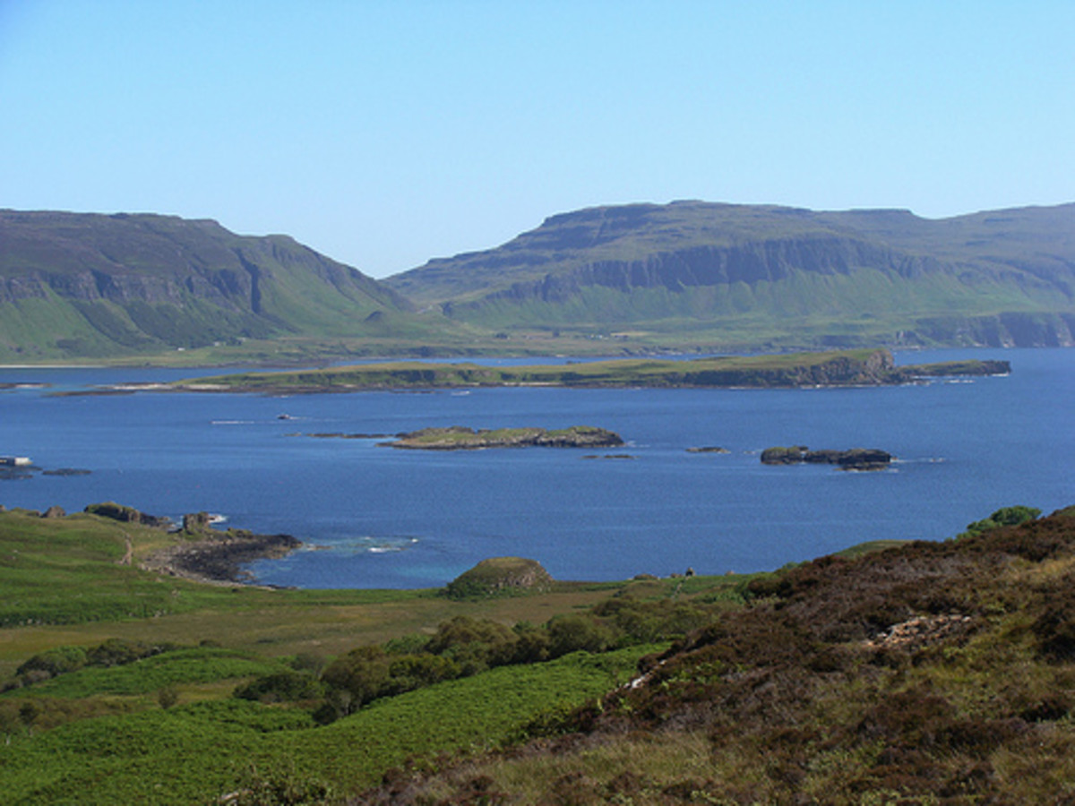 Visiting the Isle of Ulva, Scotland