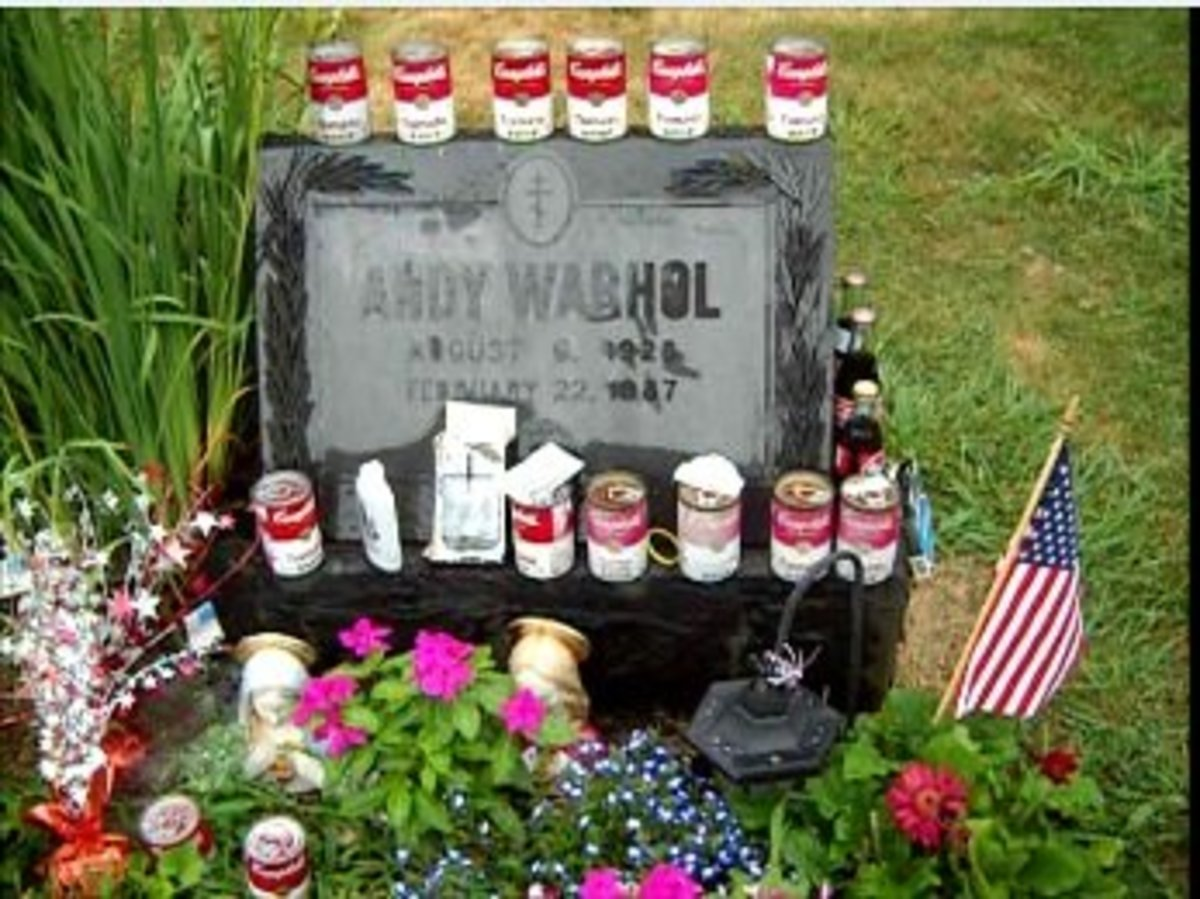 Warhol's Grave Taken in 2012