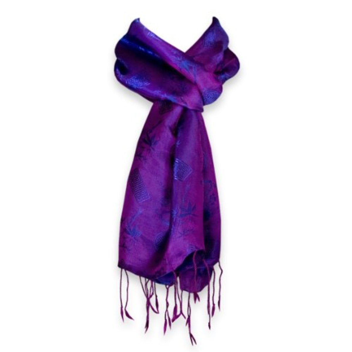 Colorful pashmina scarf brings life to the face and sets the tone for great fashion.