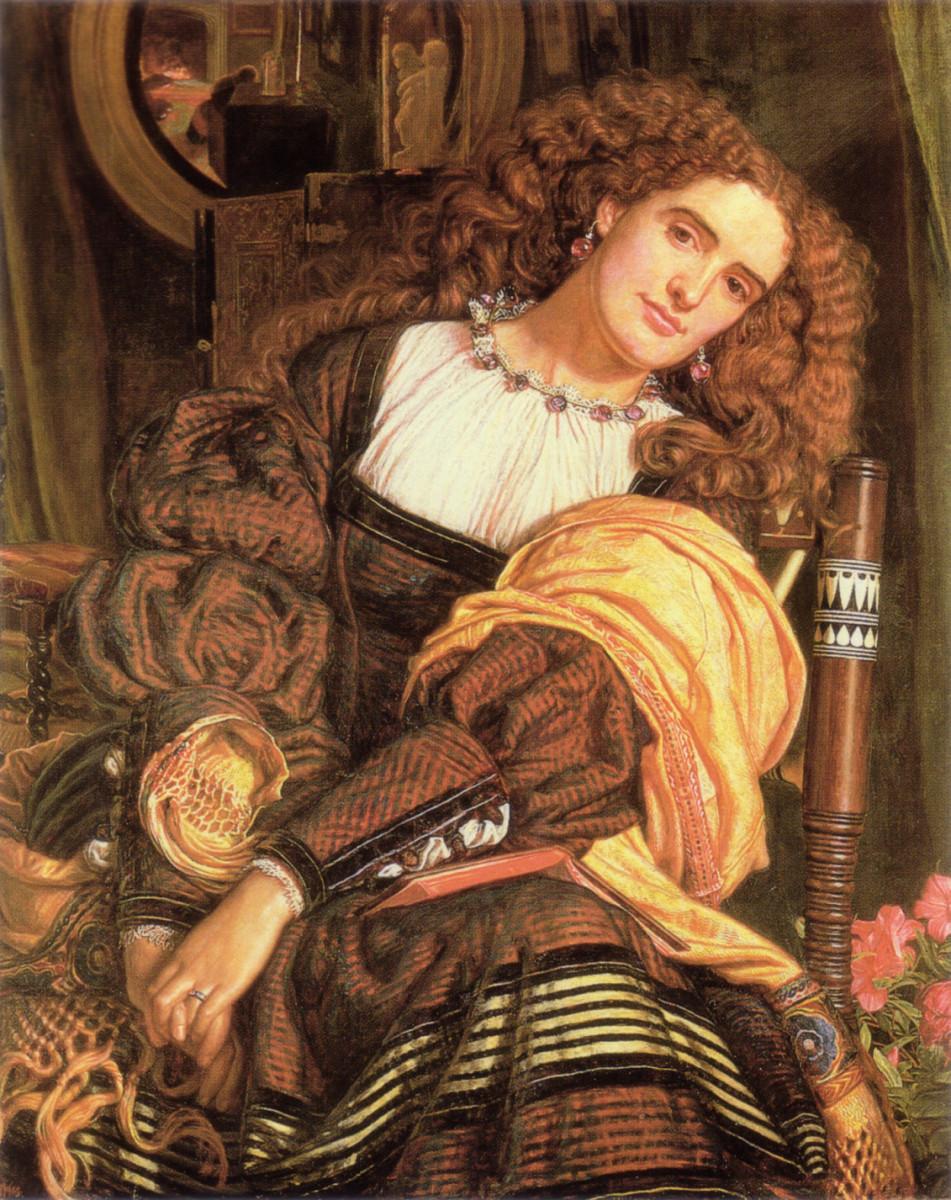 The Pre-Raphaelite Art Model: Annie Miller