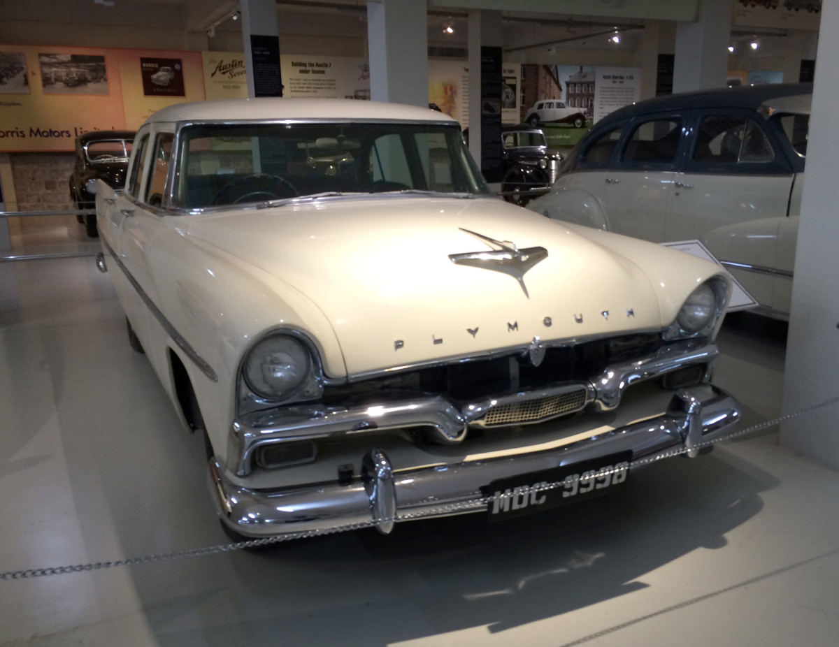 1956 Plymouth Plaza, Gedee Car Museum