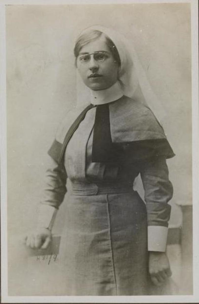 Nurse Nellie Spindler.