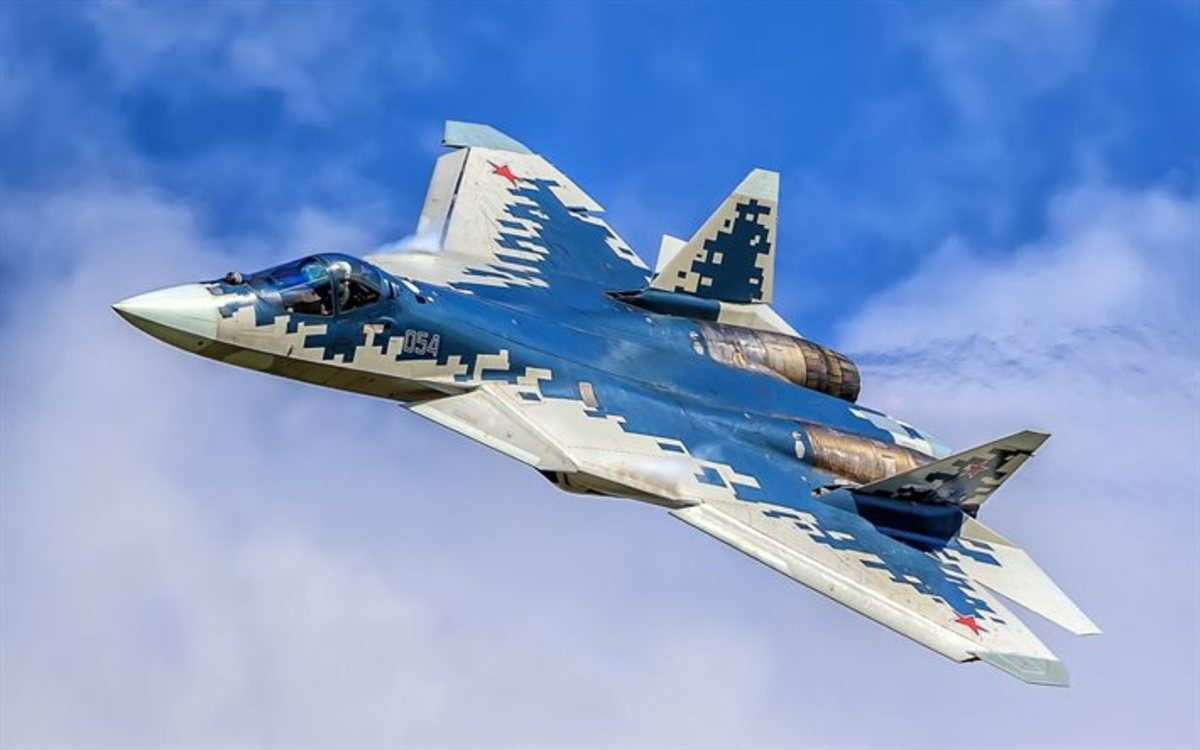 The SU-57 stealth fighter utilized much of the SU-47 technology.