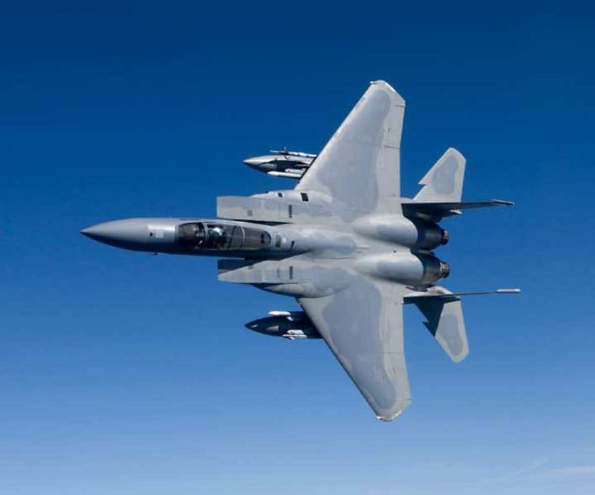 The F-15 Eagle was developed back in the Cold War.