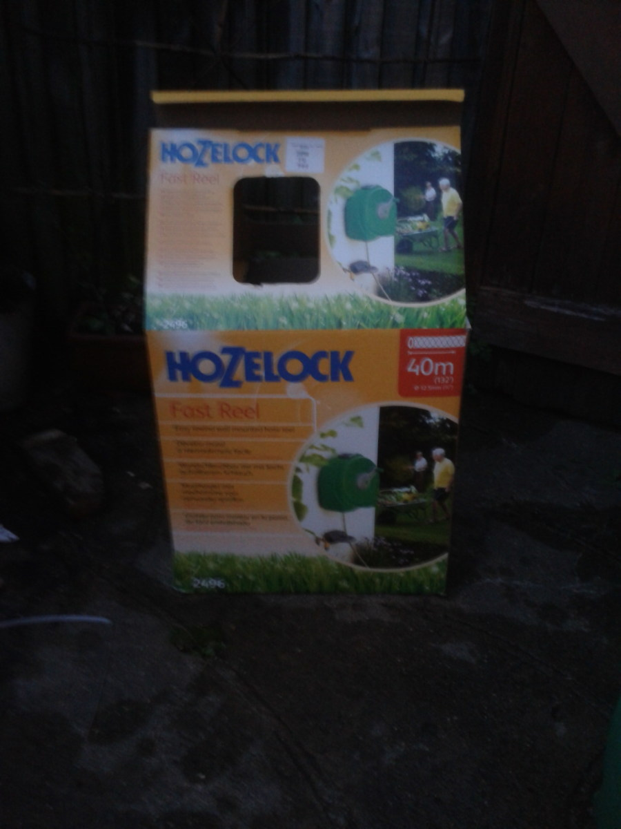 This is the Hozelock packaging, with instructions
