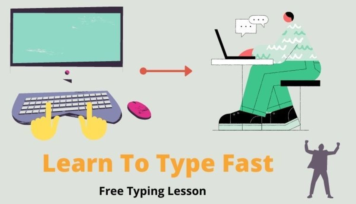 Typing lesson exercise