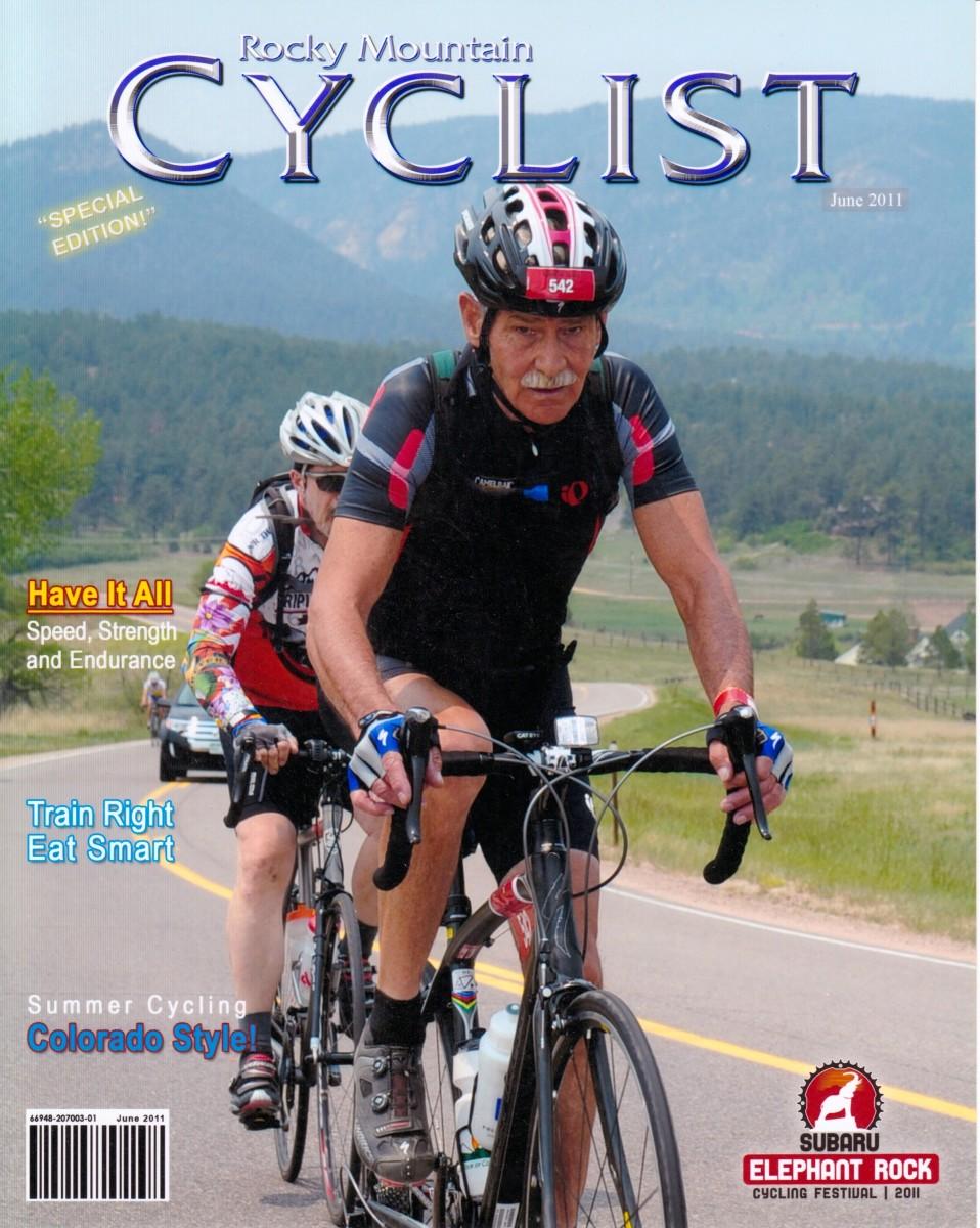 Senior Cycling Marathon Kenny Joe Clark