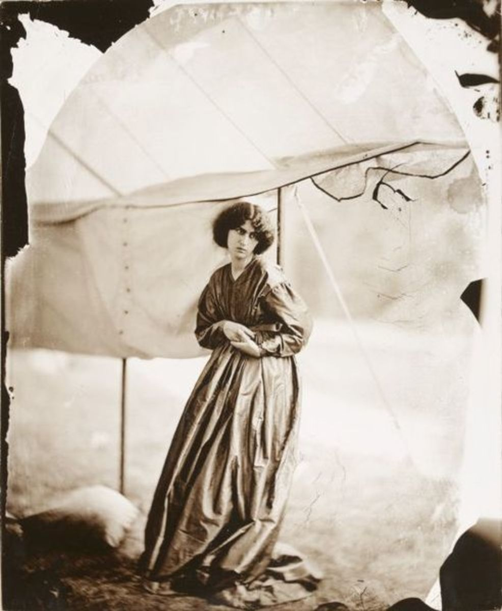 Jane Morris, Summer of 1865 by Photographer John Robert Parsons