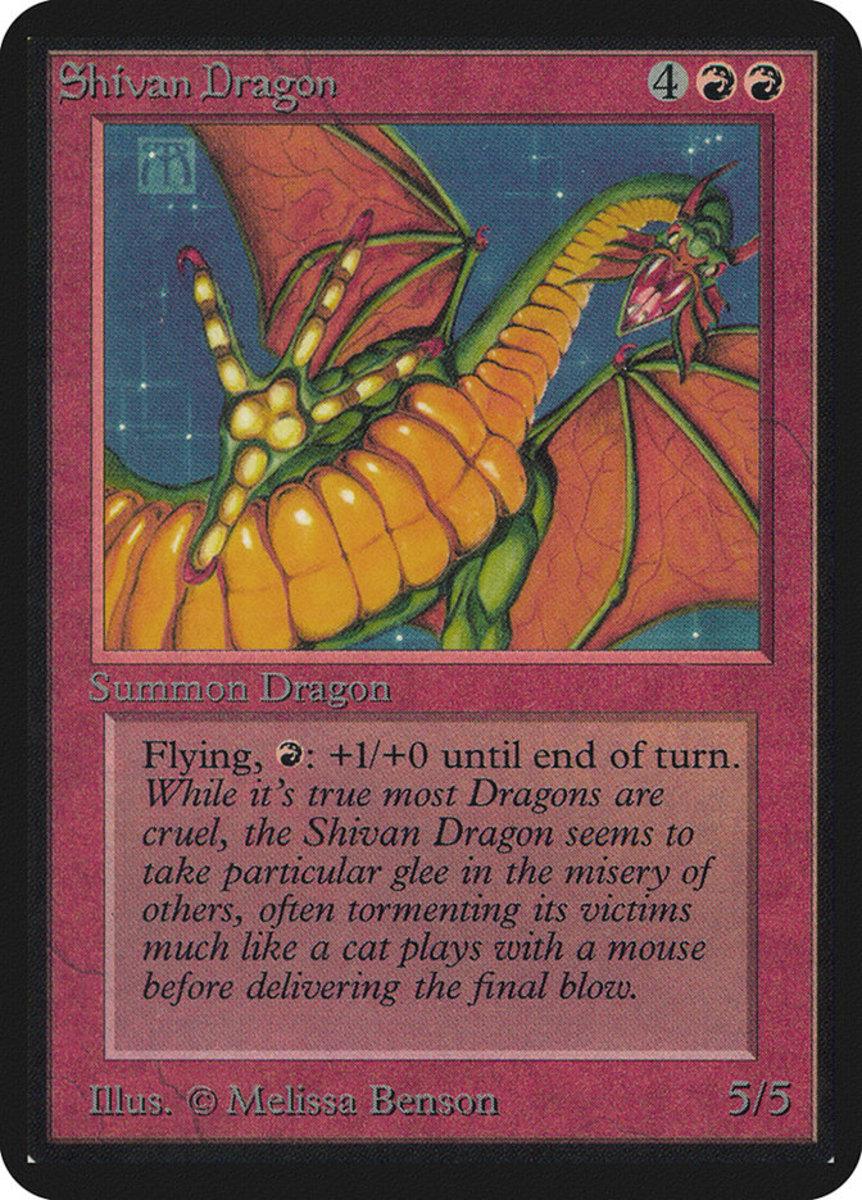 Shivan Dragon mtg
