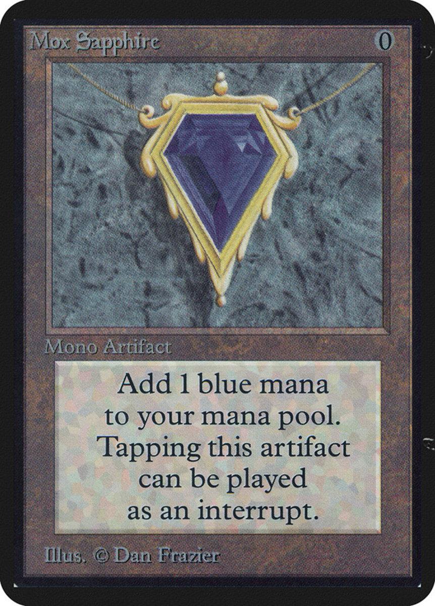 Mox Sapphire mtg